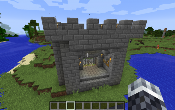 Castle Gate (Secured) Model n-1.13