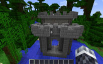 Castle Gate (Drawbridge) Model n-1.15