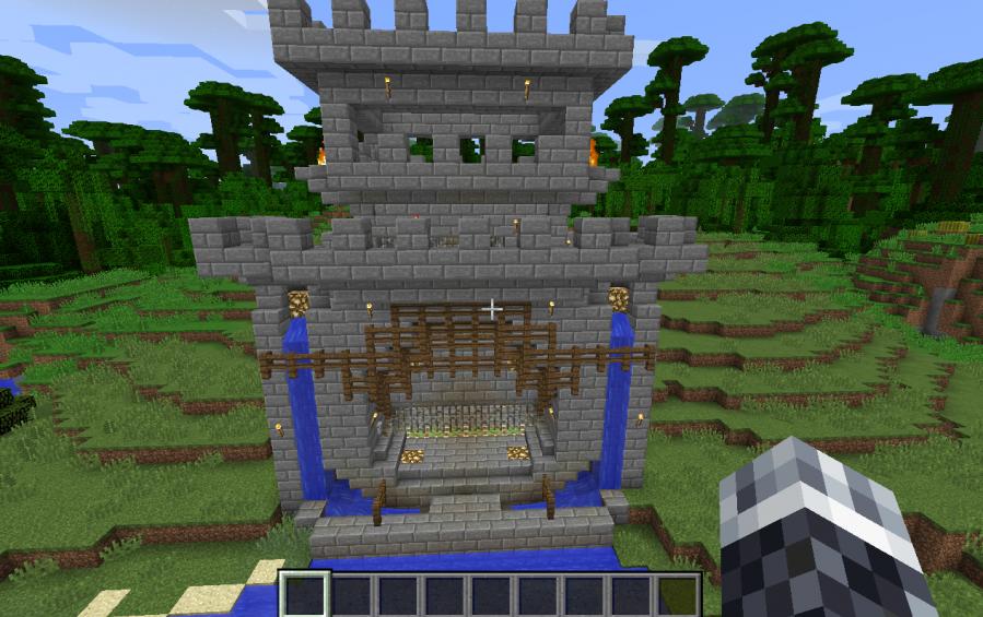 Castle Gate Model N 1 18 Creation 5612