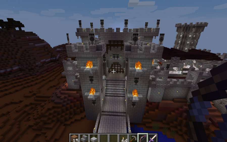 Castle Gate 3 Height Model H 2 0 Creation 5659
