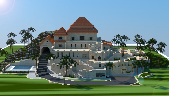 Sandstone Mansion Creation 5664