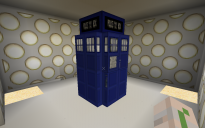 Bigger-on-the-inside TARDIS
