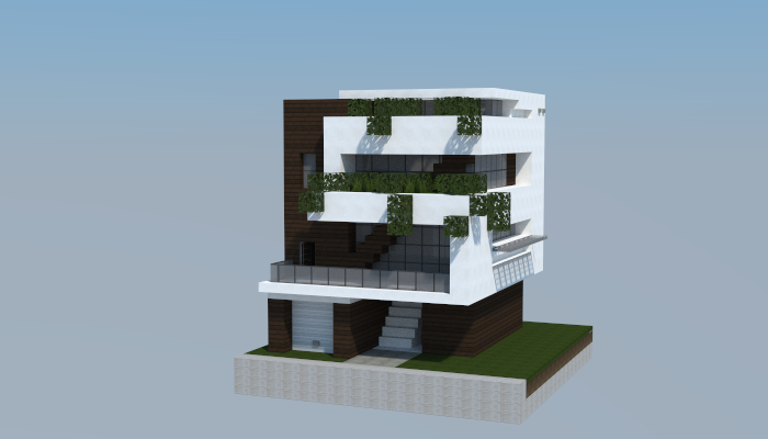 16x16 Modern House 3 Creation 5768