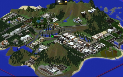Paradise Falls Modern Server Map Creation 5795