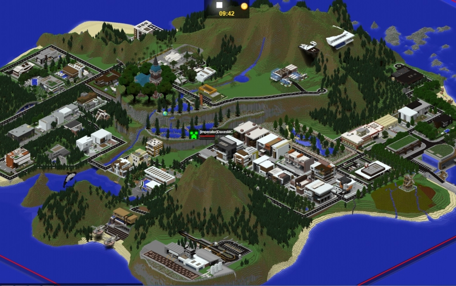 Paradise Falls Modern Server Map creation 5795
