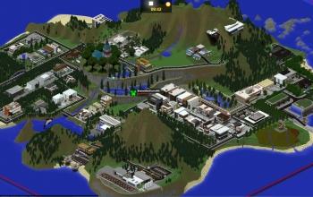Paradise Falls - Modern Server Map