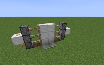 Compact Easy Piston Door