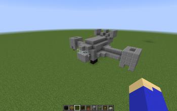 VTOL Warship (landed)