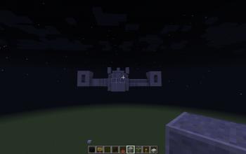 VTOL Warship (Flying, Door open)