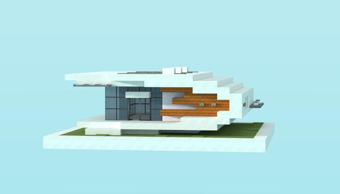 16x16 Modern House 4 Creation 5861