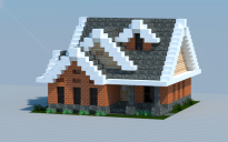 16x16 Traditional house 1