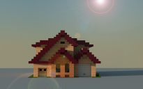 16x16 Traditional house 2