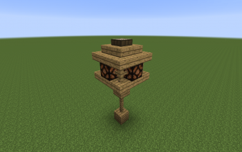 Automatic Wooden Streetlight