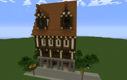 Medieval Styled Townhouse Creation 5959