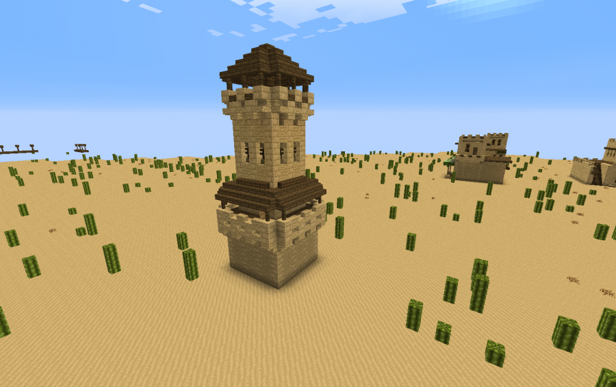 Desert Styled Watchtower Creation 5961