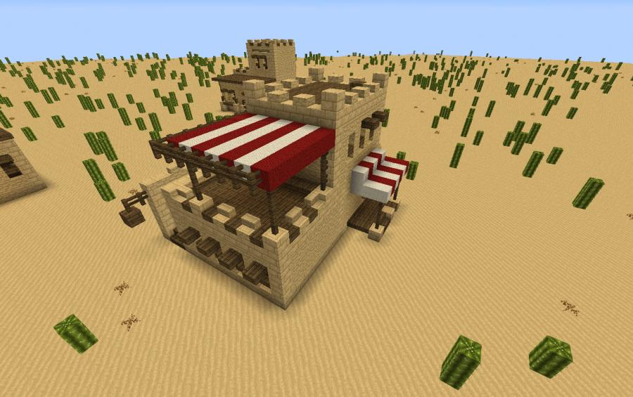 Desert Styled House 2 Creation 5965