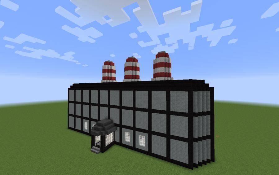 power plant schematic minecraft