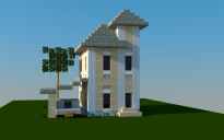 16x16 Traditional House 3