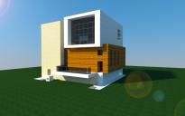16x16 Modern redstone house