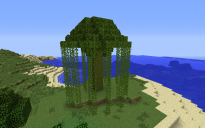 Simple Jungle Tree House