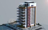 Large Modern Apartment Building