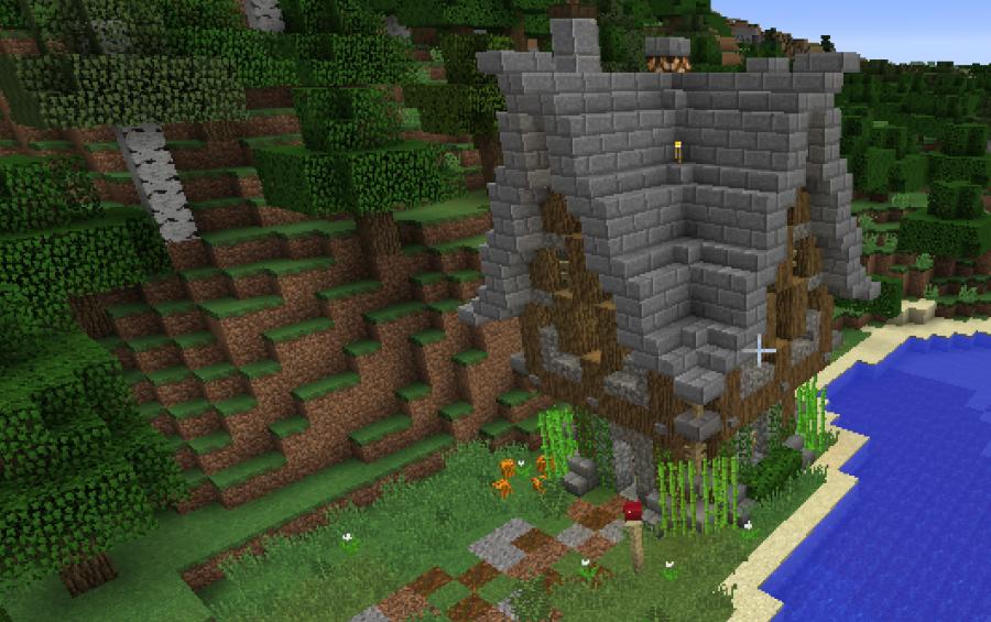 Building Games Coop Server Minecraft