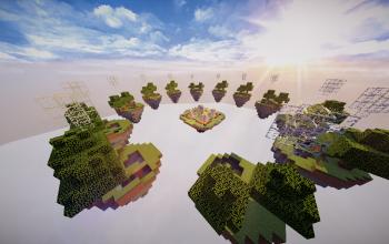Schematic SkyWars Map Trees CubeCraft