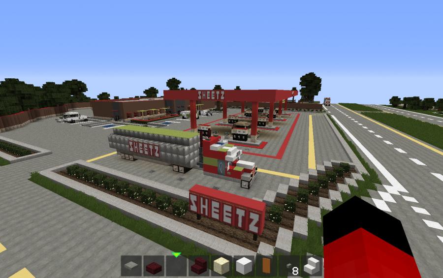Sheetz Gas Station Creation 6346