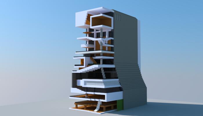 Modern Building Creation 6384