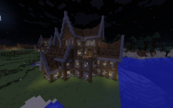 Rustic Mansion/Large House