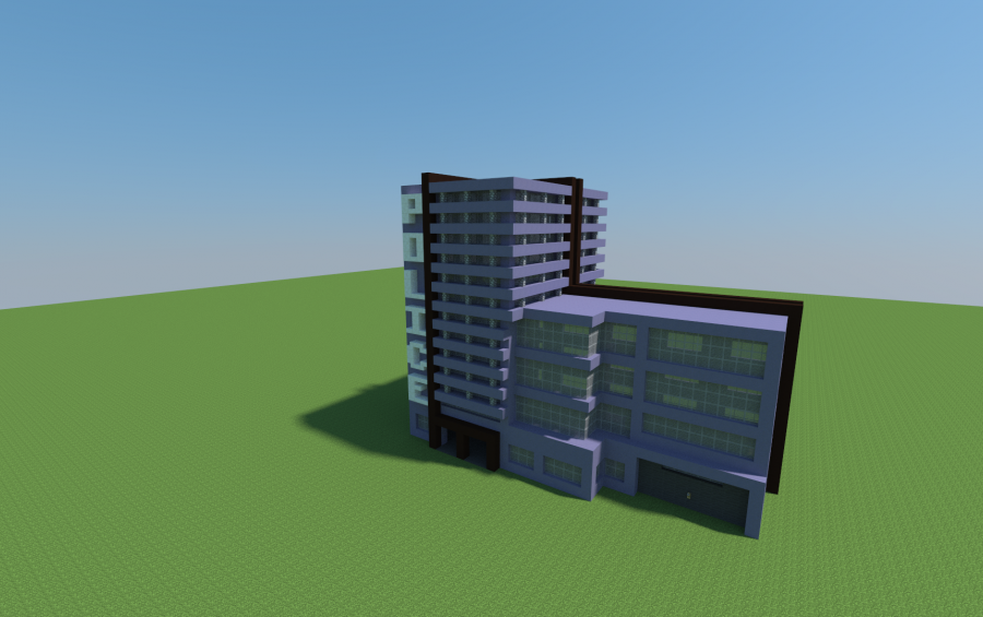 Police Station   Modern Police Station, creation #6424