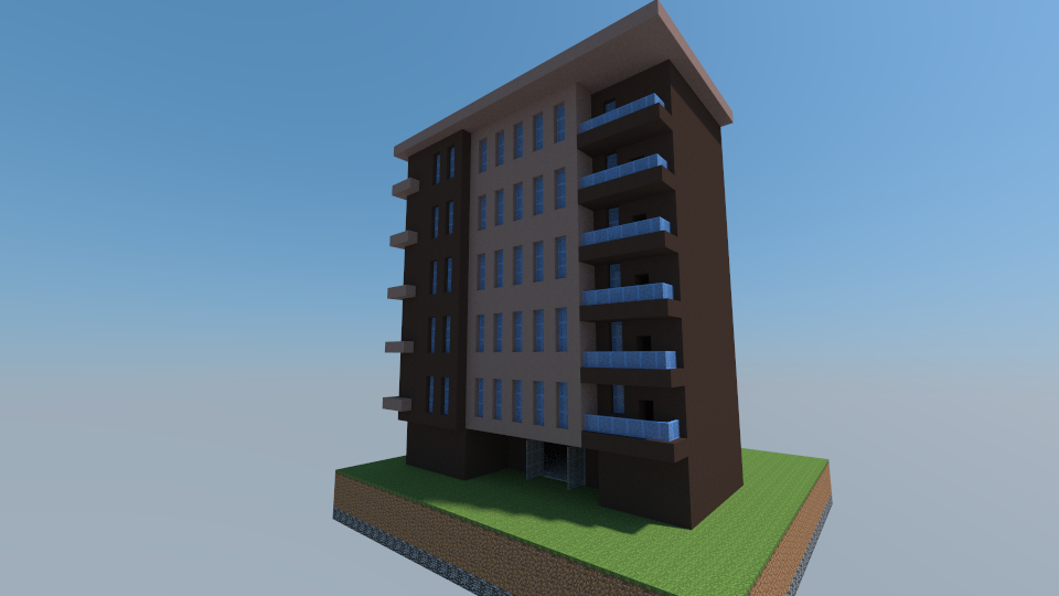 Apartment Building Modern Apartment Building Creation