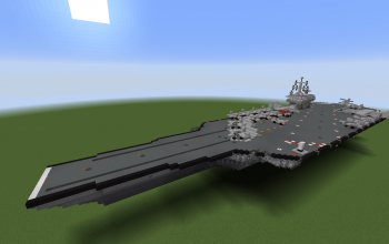 Modern Aircraft Carrier