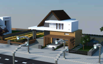 Modern traditional house