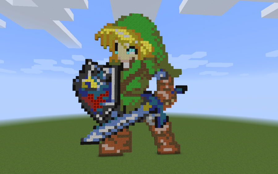 Link Pixel Art Creation 6510