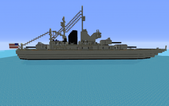 WWII Era Heavy Cruiser