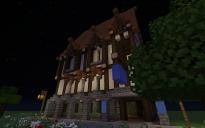 large medieval tavern