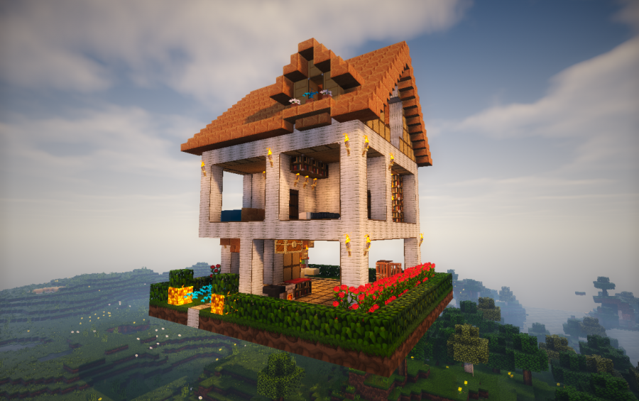 Modern Wooden House, creation #6596