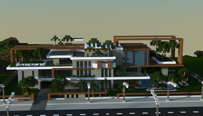 Large modern house