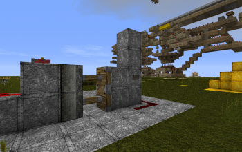 Simple Piston Door
