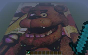 Freddy Fazbear Pixel Art