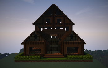 Large Wooden Lodge (Unfurnished)