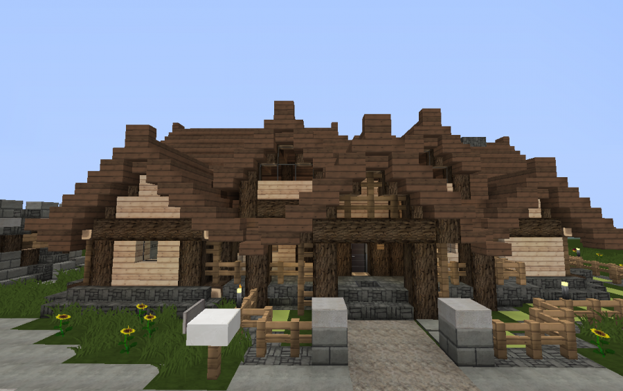 Rustic Log Cabin Creation 677