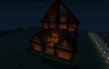 Large Wooden Lodge (Furnished)