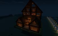 Large Wooden Lodge (Furnished)