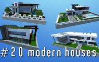 20 modern houses