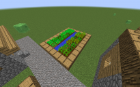 "NPC Village ""farm with wheat an potato's"""