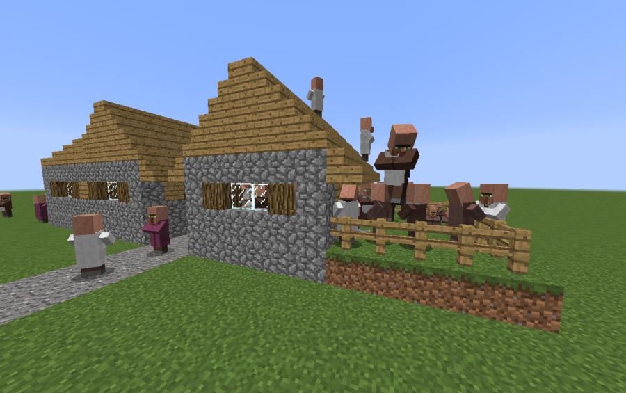 Npc Village Quot House With Garden Quot Creation 6808