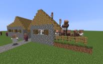 """NPC Village """"house with garden"""""""