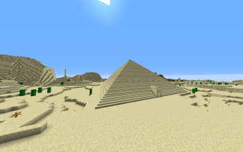 Sandstone Pyramid with Maze
